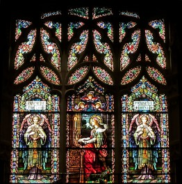 St Cecelia window