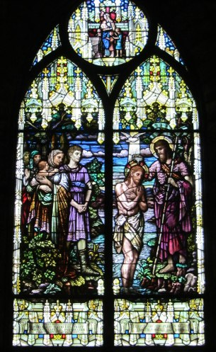Baptism of Christ (1927)  Jacoby Art Glass of St Louis