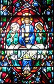 detail from Chancel Window