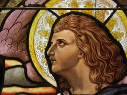 Immaculate Conception window detail