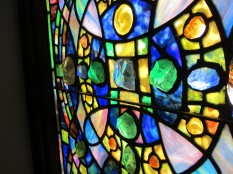 Detail Tiffany window