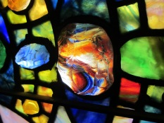Detail of Tiffany window First Presbyterian Church- Topeka, Kansas
