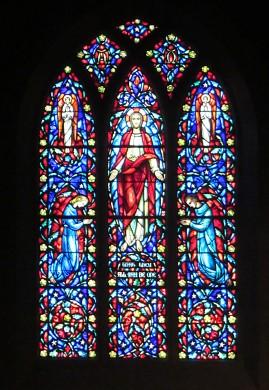 Altar Window Combs Chapel