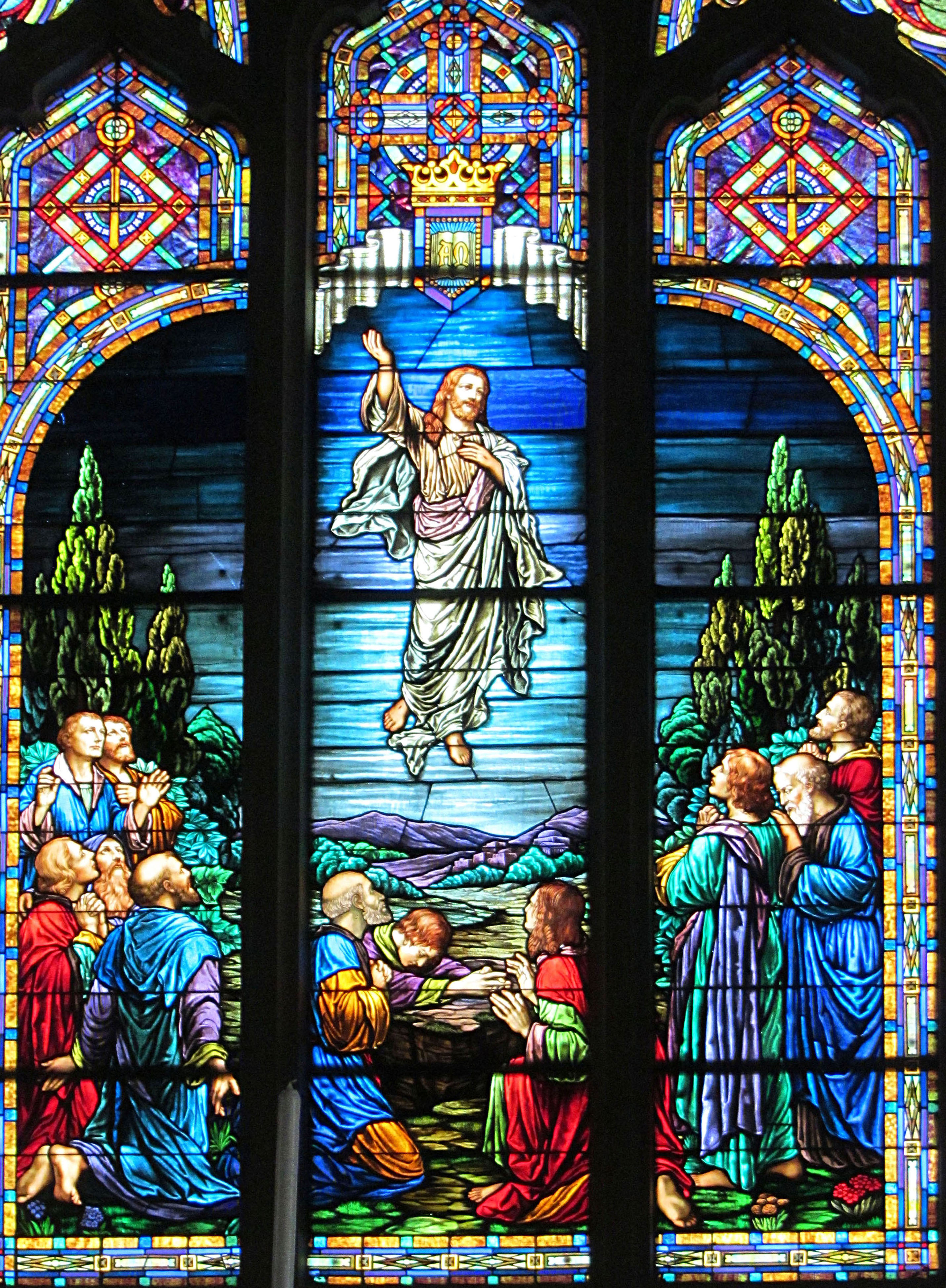 Keystone formerly broadway united methodist church inspired glass and they shall call his name emannuel ascention biocorpaavc Choice Image