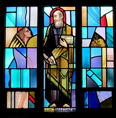 Saint Matthew Window