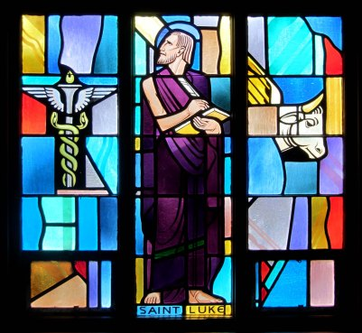 Saint Luke Window