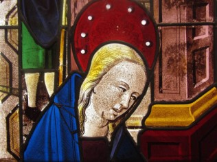 Mary, detail from The Nativity ca. 1460-80 France