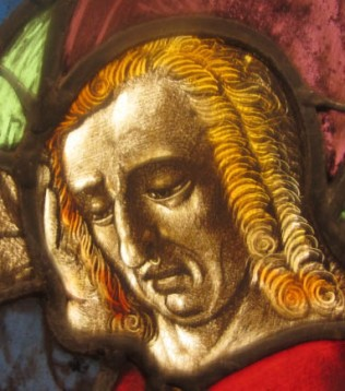 John Detail from the Crucifixion 1460-80 France