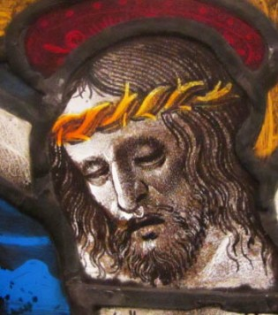 Christ detail from Crucifixion 1460-80 France