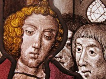 Detail St. Eleutherius of Tournai Baptizing Converts ca. 1500-25 Flemish