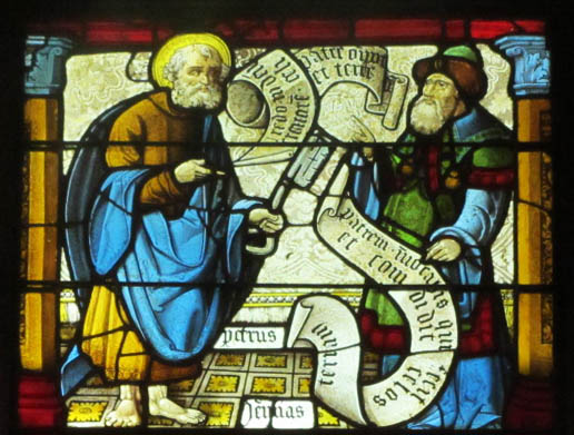 St Peter and Prophet Jeremiah