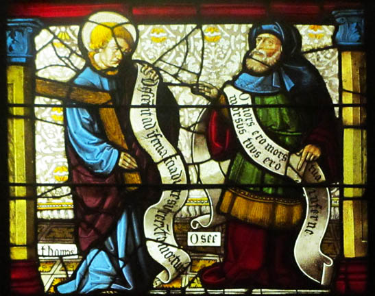 St.Thomas and Prophet Hosea