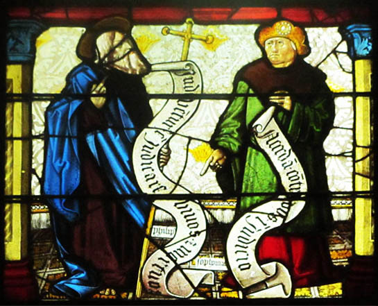 St. Philip and the Prophet Sophonias