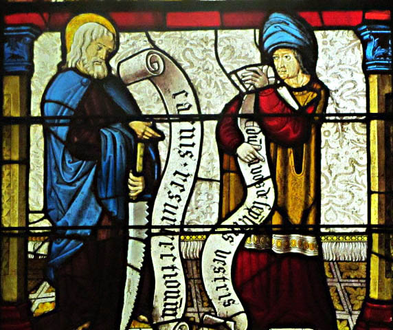 St. Jude and the Prophet Daniel