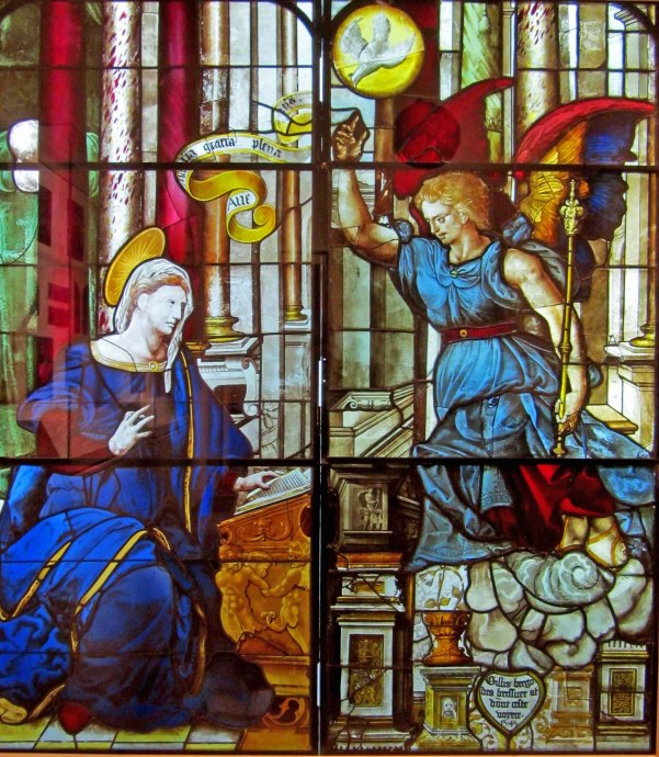 Annunciation ( French 1550)