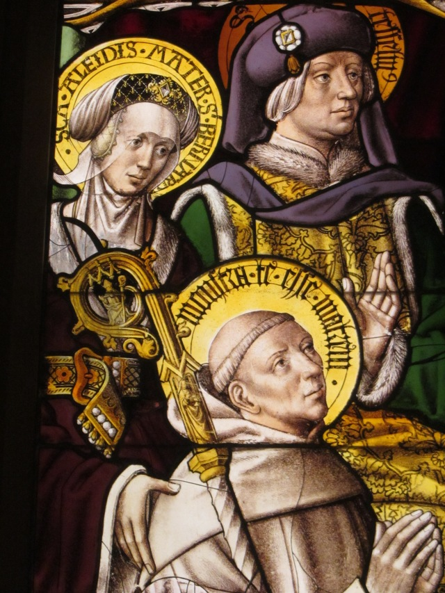 Saint Bernard and Donors ? German 1505-08