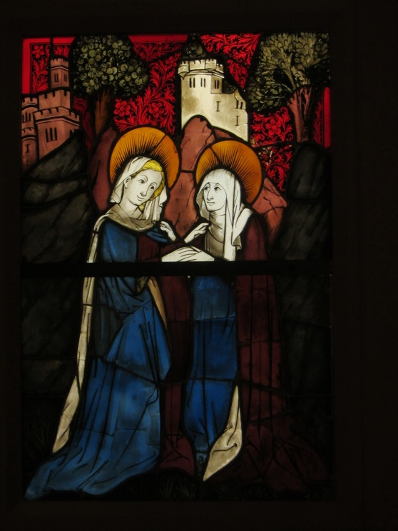 The Visitation from The Life of the Virgin