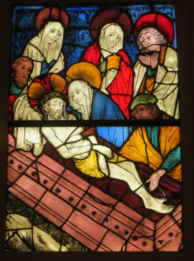 Entombment of Christ, German, 1444