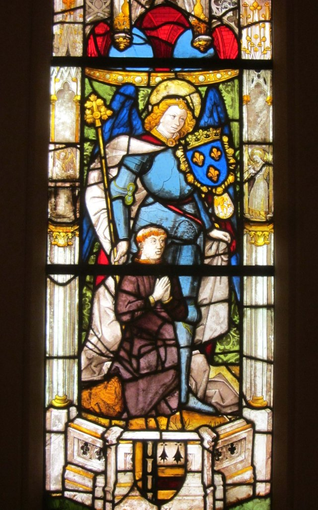 St Michael and Donor French 1500